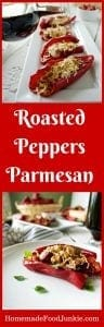 Roasted Peppers Parmesan
