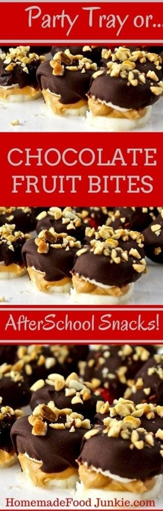 CHOCOLATE FRUIT BITES