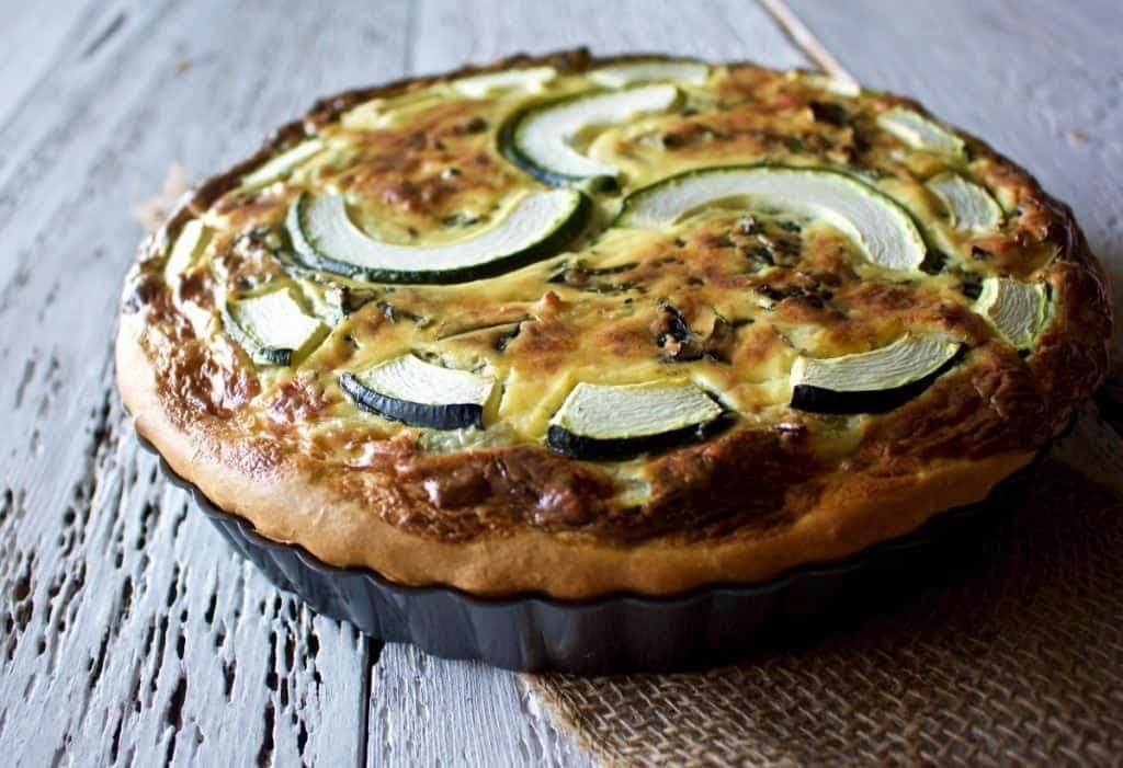 Savory Zucchini Tart