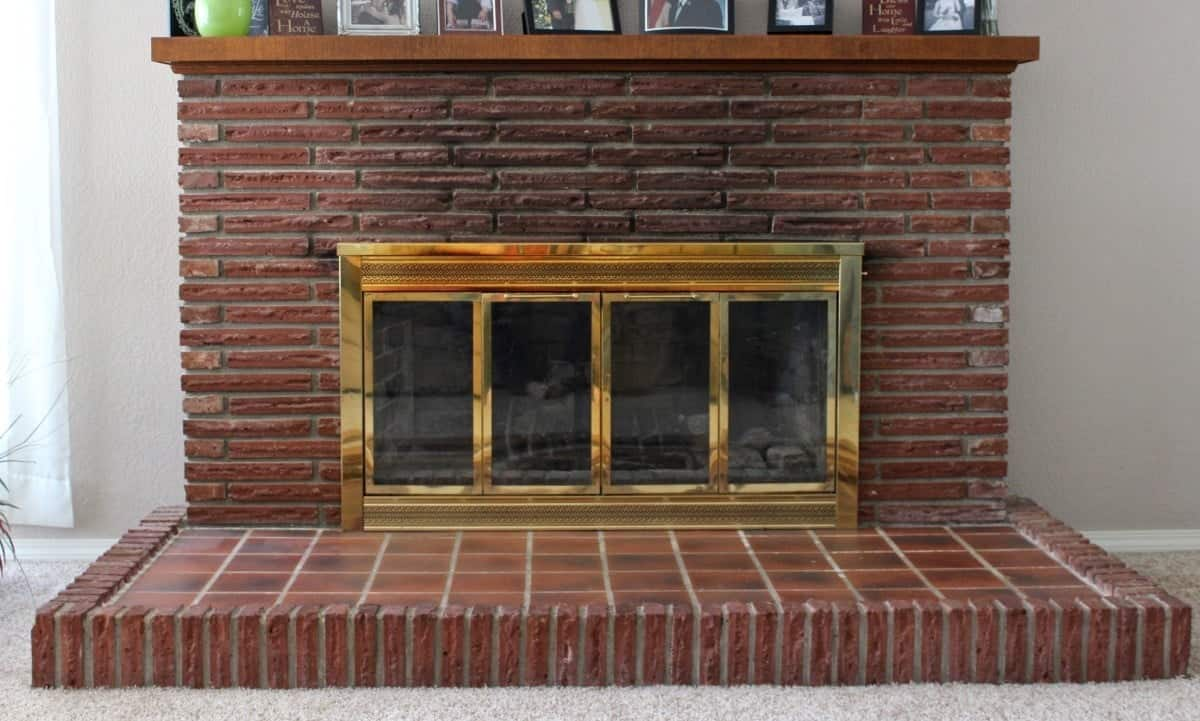DIY Fireplace Overhaul Part