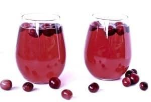 Cranberry Mimosas
