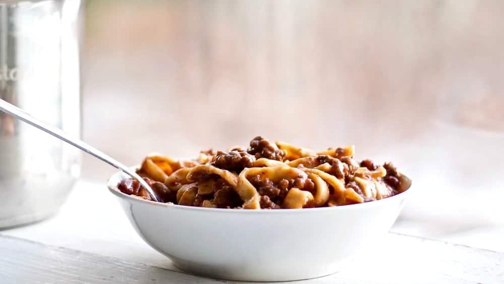 Beef Noodle Skillet Dinner