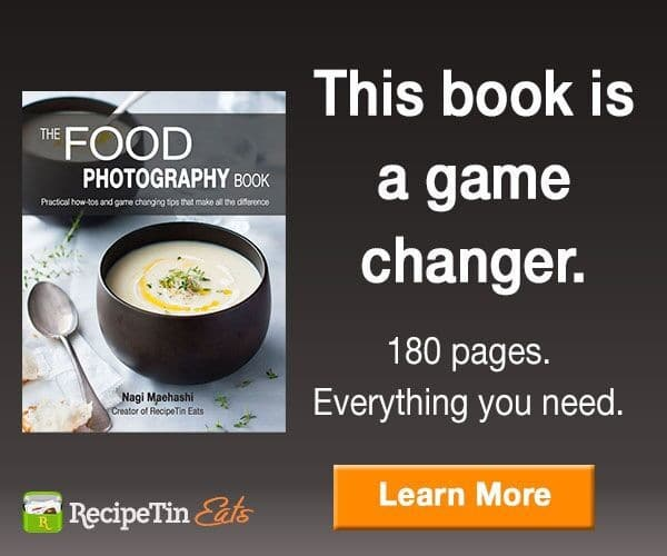 Food Photography Book by Recipe Tin Eats