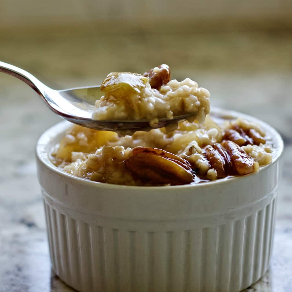 healthy steel cut oats breakfast