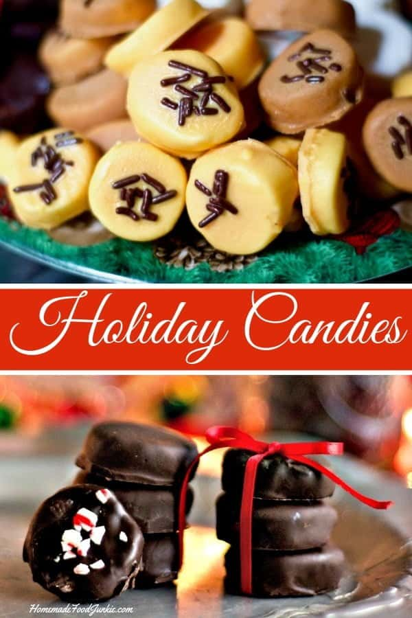 Holiday Candies. These delicious Holiday candies are super cute and yummy! They are simple to decorate and make appropriate for any holiday you are celebrating this season. #holidaycandies #homemadecandies #holidayrecipe
