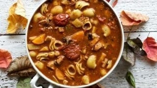 Chicken Noodle Minestrone