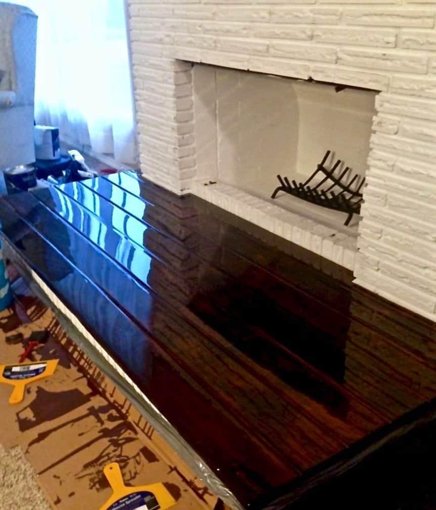 "<img src=""DIY Fireplace Overhaul part 3.jpg"" alt=""DIY Fireplace Overhaul Part 3""> Building a Wooden hearth"