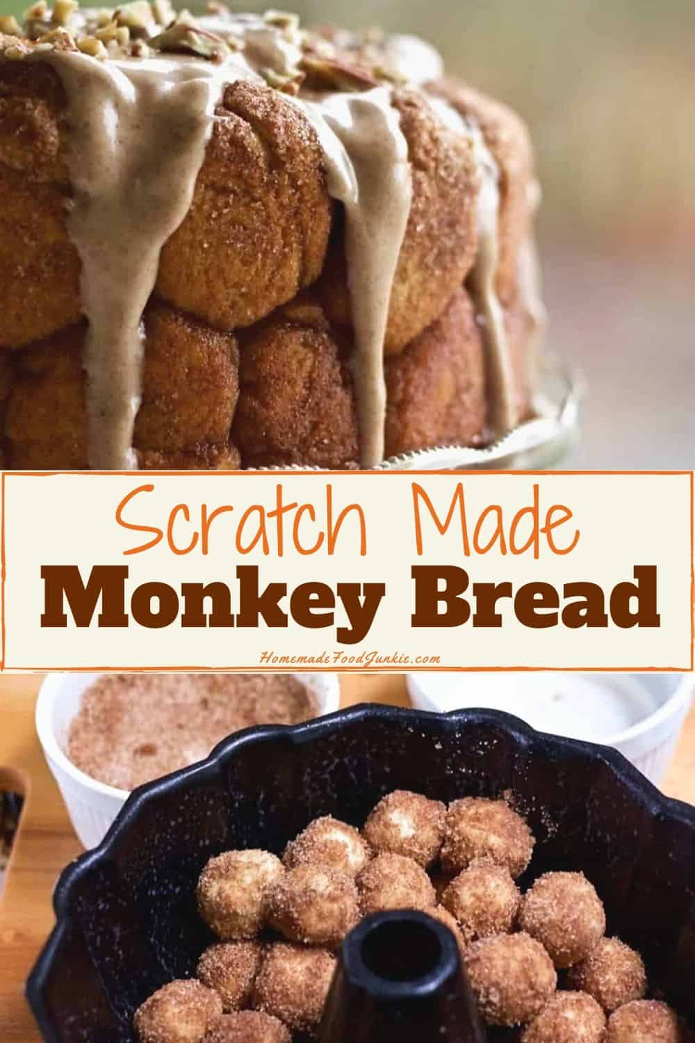 Scratch Made Monkey Bread-pin image