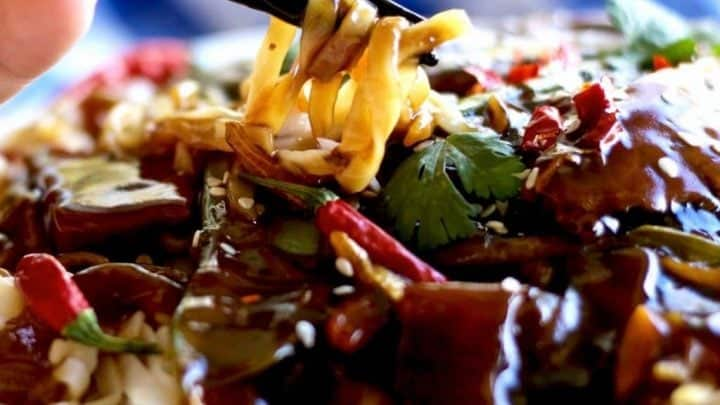 Sesame Beef Thai Noodle Dinner