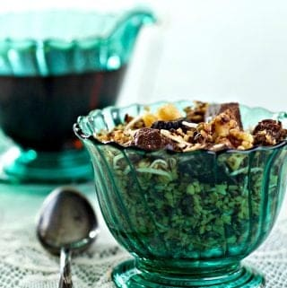 Healthy Steel Cut Oat Granola