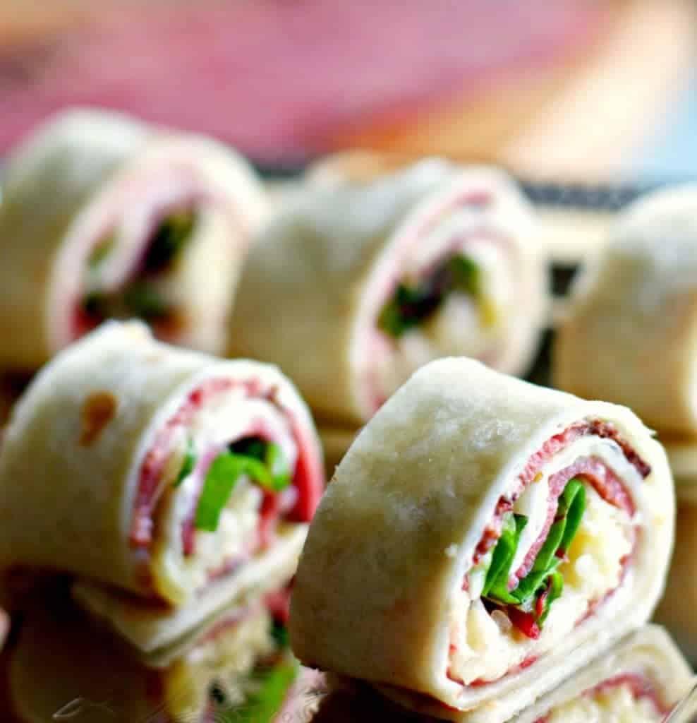 Pastrami Wraps appetizer recipe