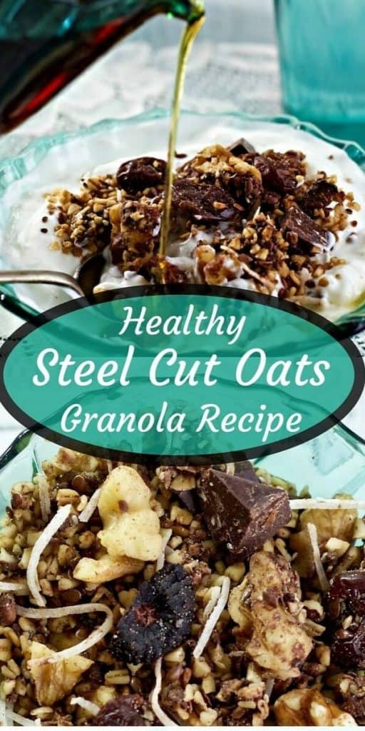 steel cut oats granola recipe Pin Image