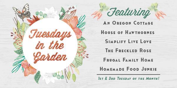 Tuesdays in the Garden Blog Hop!