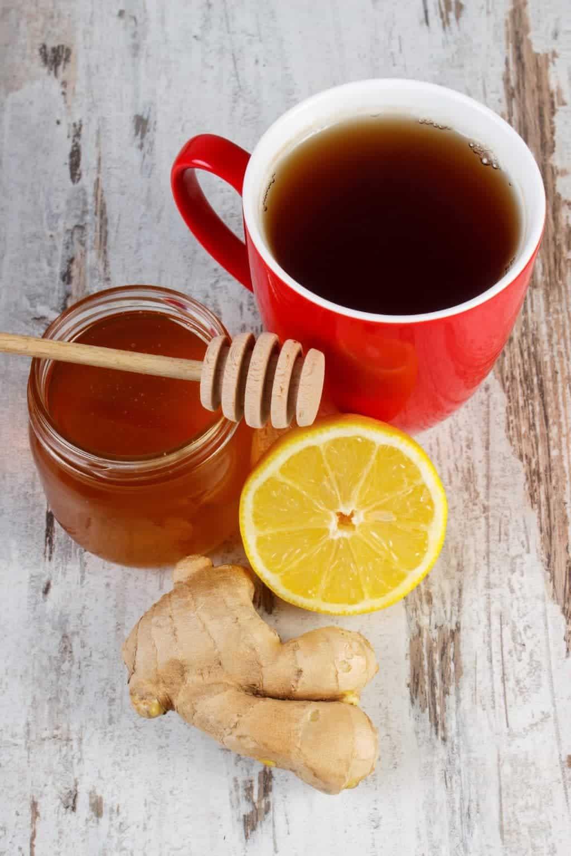 Healing Ginger and Ginger Tea