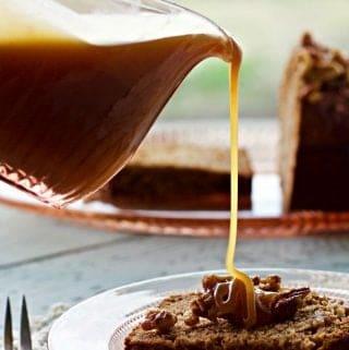 Homemade Buttermilk Caramel Sauce