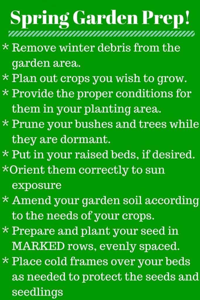 Spring Garden Prep!