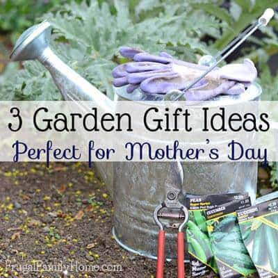 3 Garden Gift Ideas