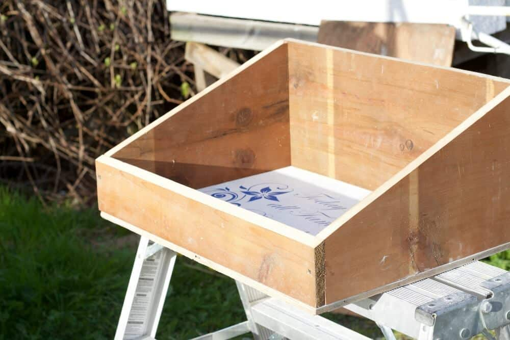 Diy garden tool box homemade food junkie