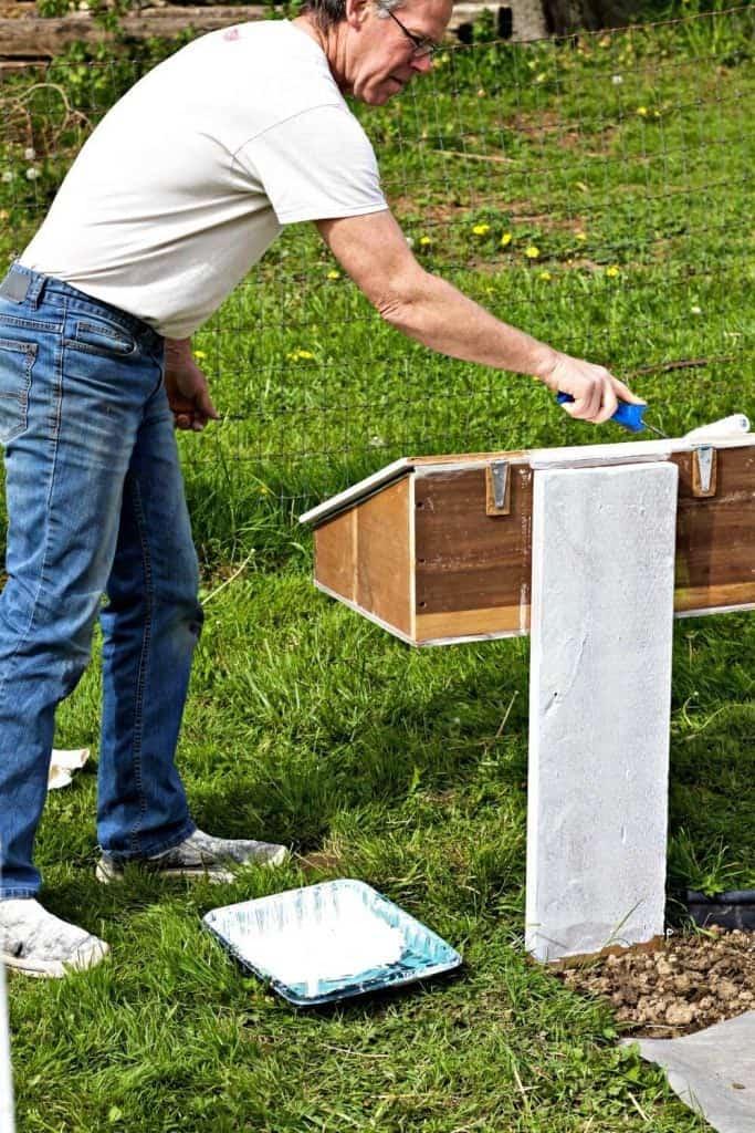 DIY Garden Tool Box