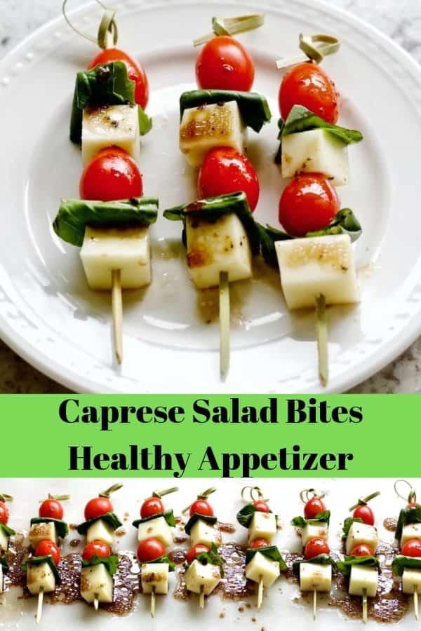 Caprese Salad Bite Appetizer PIN