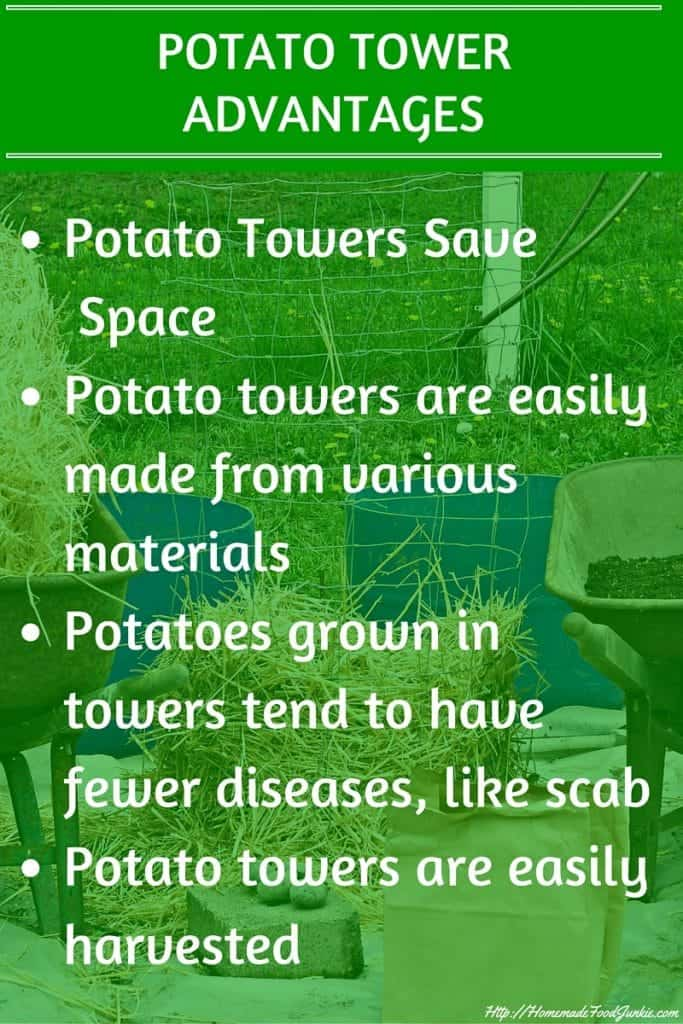 Easy Diy Potato Towers Have Several Advantages Over Hilling A Row Of Spuds In Your Garden. Http://Homemadefoodjunkie.com