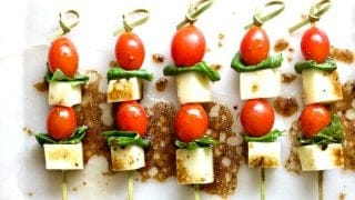 Caprese Salad Bites Appetizer Recipe