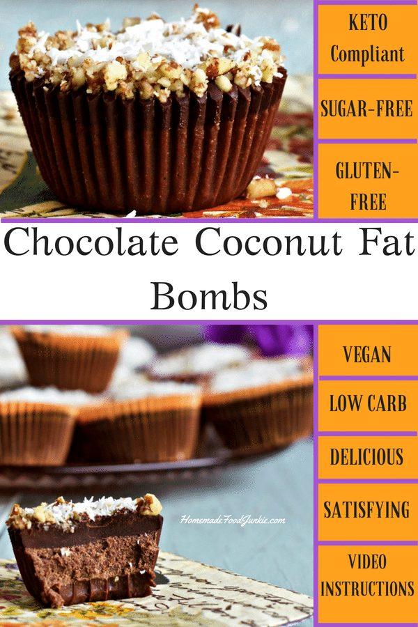 Chocolate Coconut Fat Bombs 1