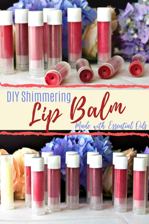 DIY shimmering lip balm-pin image