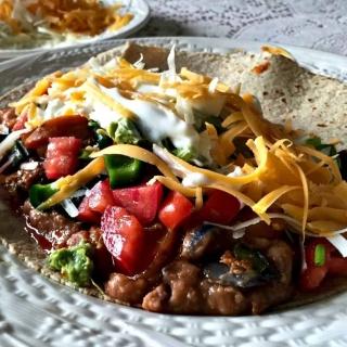 Potato Chorizo burrito