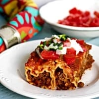 Mexican Manicotti Casserole