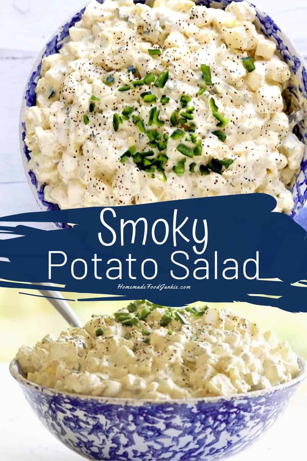 Smoky Potato Salad-pin image