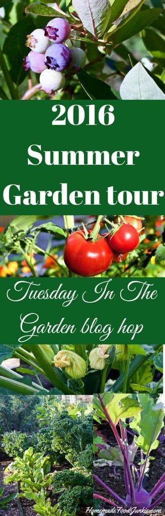 2016 Summer Garden tour and blog Hop http://homemadeFoodjunkie.com
