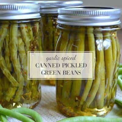 An Oregon Cottage pickled green beans
