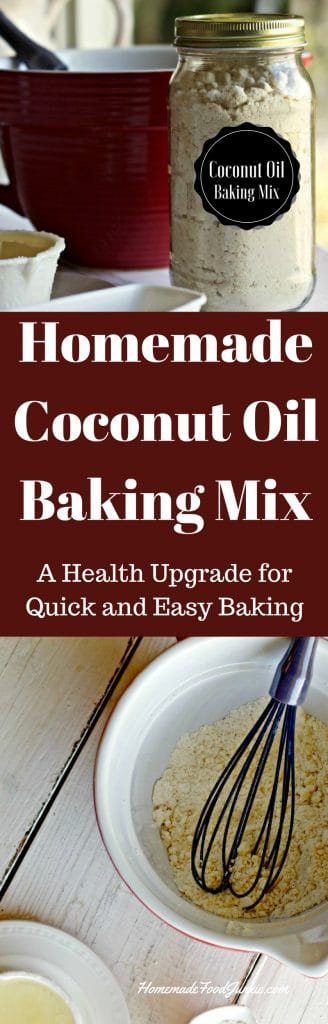 Homemade Coconut Oil Baking Mix A healthier Baking mix