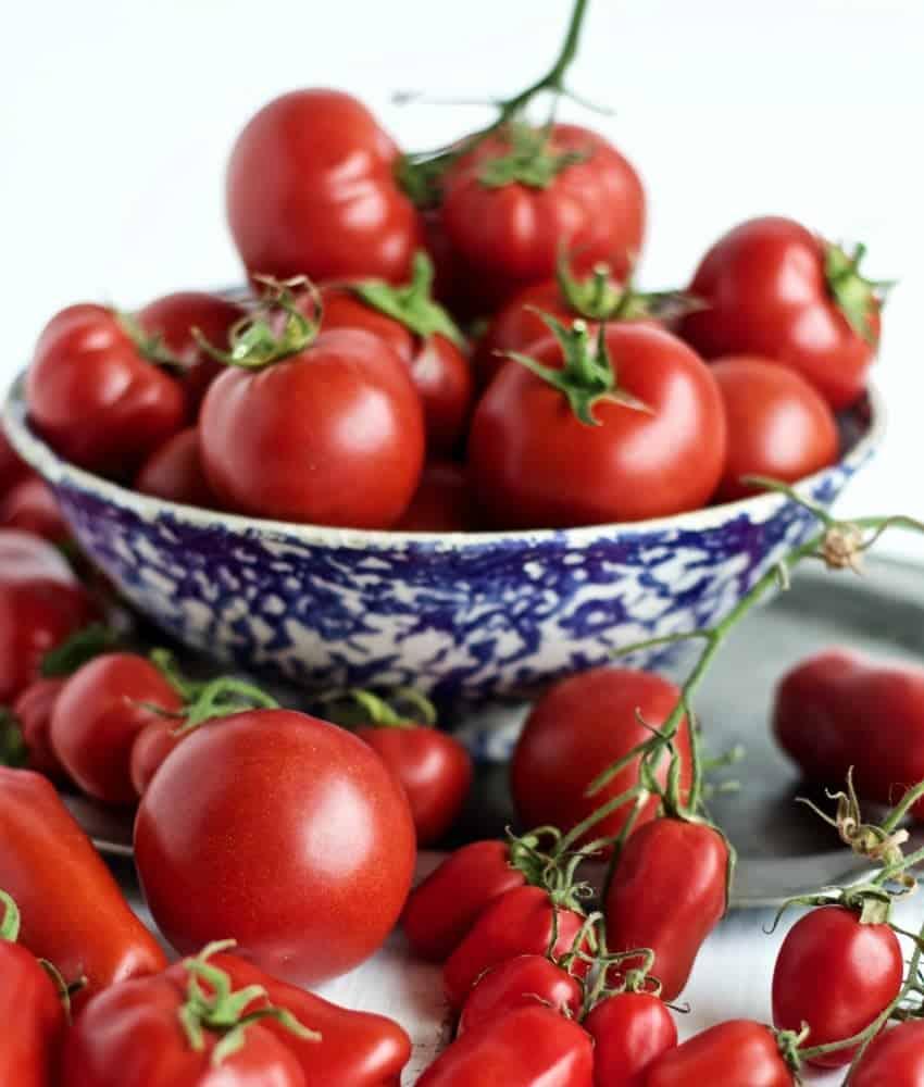 Arbason and Roma Tomatoes