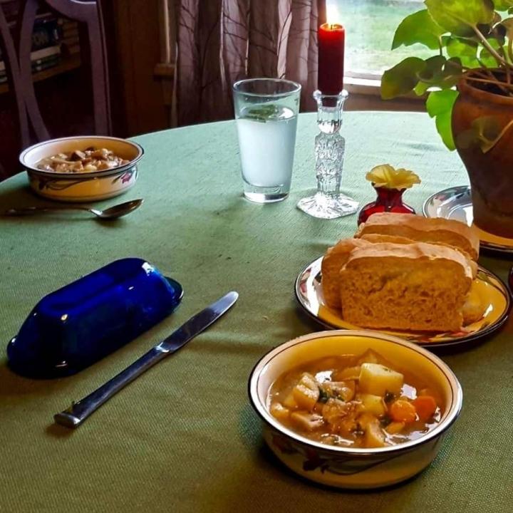 Rabbit Mushroom Stew