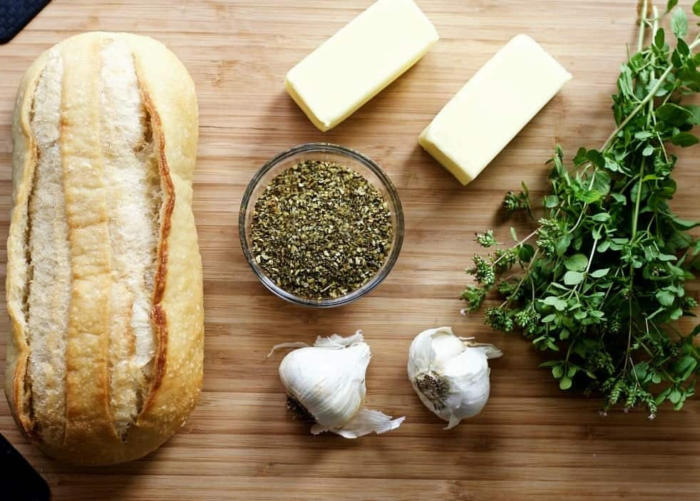 Cheesy Bruschetta Garlic Bread