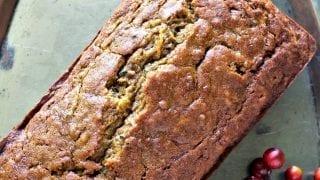 Pumpkin Zucchini Bread (or cake)