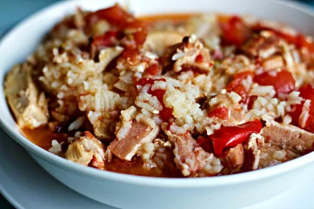 Slow Cooker Chicken Stuffed Pepper Soup
