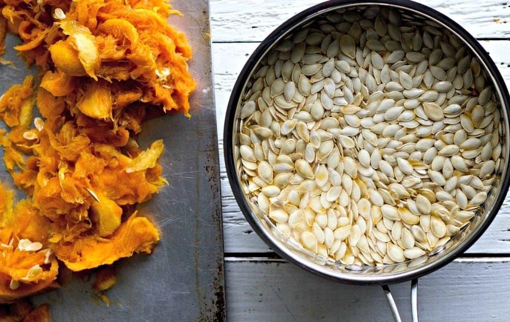 Sorted Pumpkin Seeds For Roasted Pumpkin Seeds
