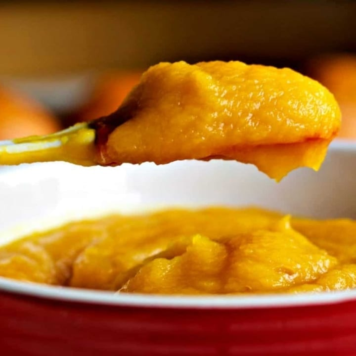 Homemade Roasted Pumpkin Puree