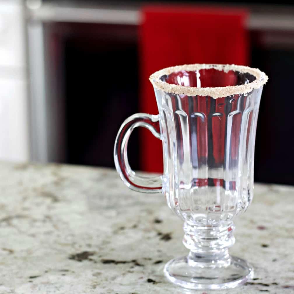 Rimmed Glass