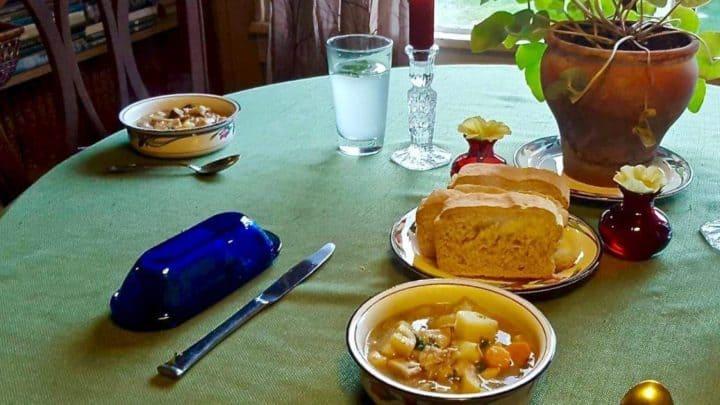 Rabbit Mushroom Stew Recipe