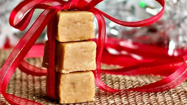 Homemade Peanut Butter Fudge Love This Easy Recipe. What A Great Foodie Gift!