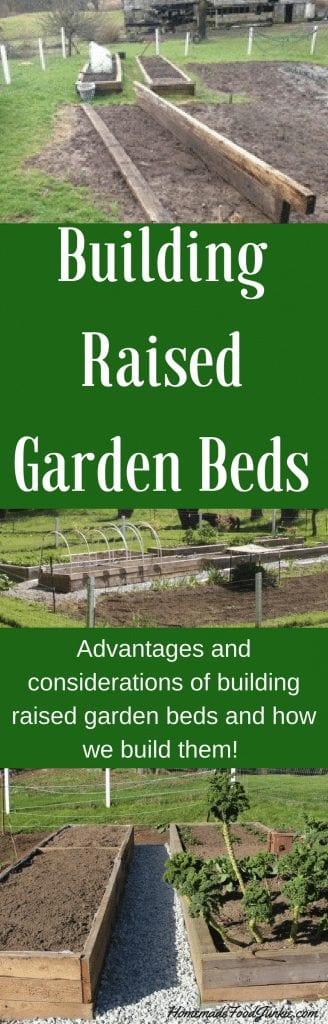Building Raised Garden Beds has many advantages. Find out why you should garden in raised beds and how to do it!