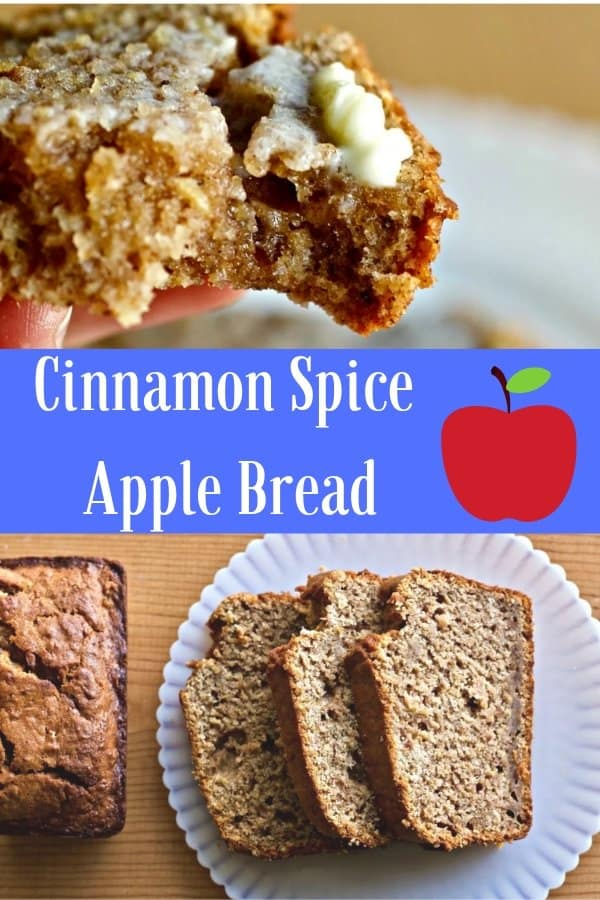 Cinnamon Spice Apple Bread