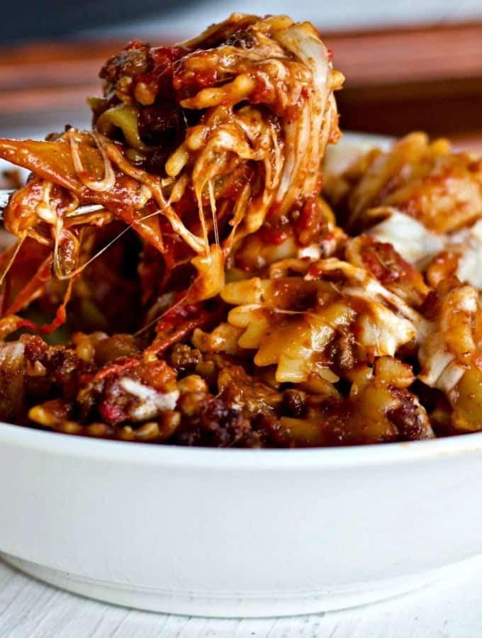 Instant Pot Meaty Italian Pasta Dinner