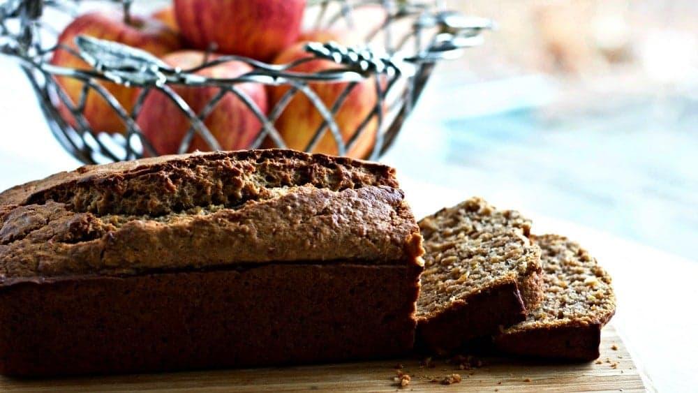 Cinnamon Spice Apple Bread