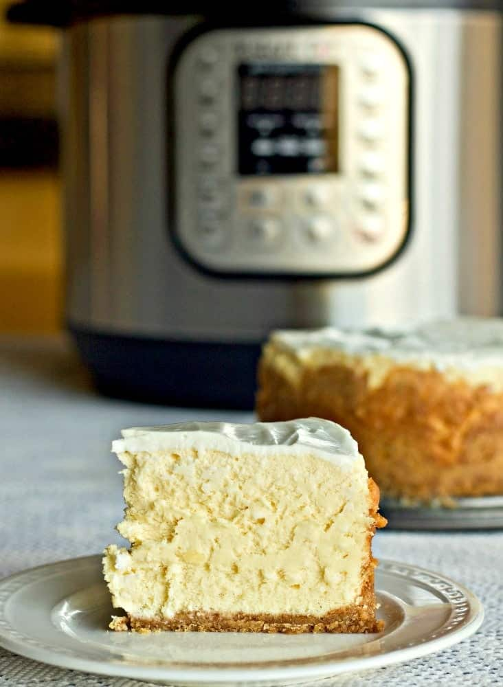 Instant Pot 6 inch New York Style Cheesecake