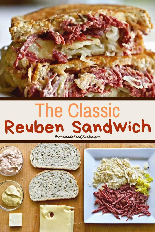 the classic reuben sandwich-pin image